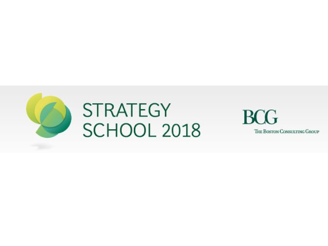BCG Strategy School 2018