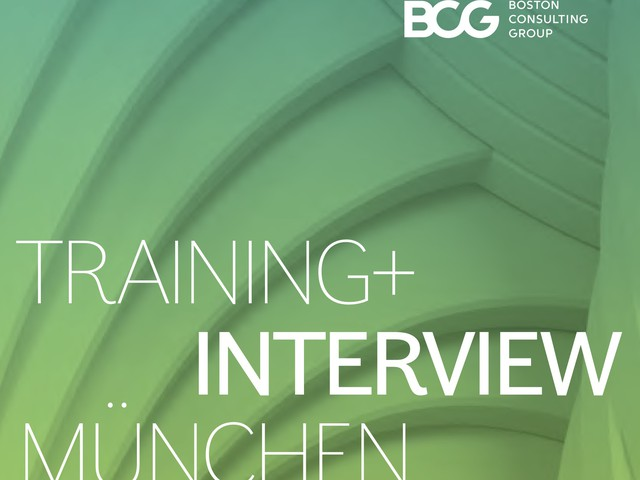 Training & Interview